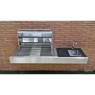 OUTDOOR GAS GRILL KRAKATOA ELITE PLUS POINT
